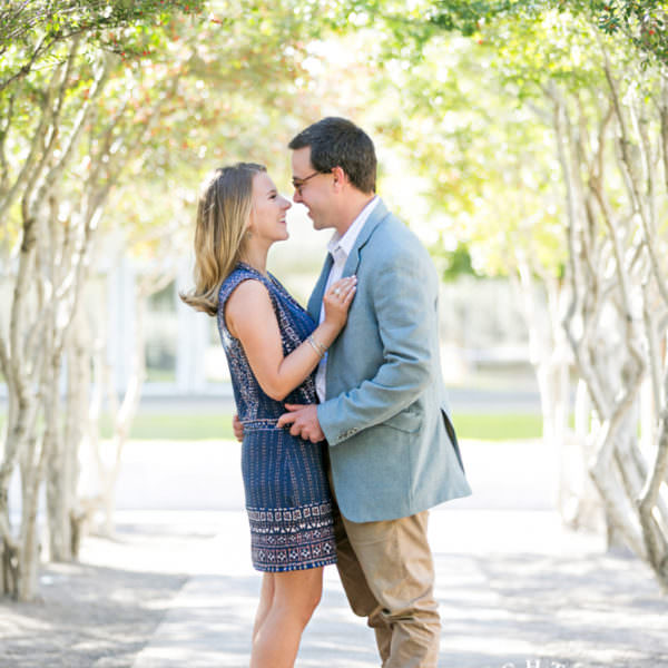 Lizzie & Caleb - Engagement Session at the Kimbell Art Museum & Magnolia Street
