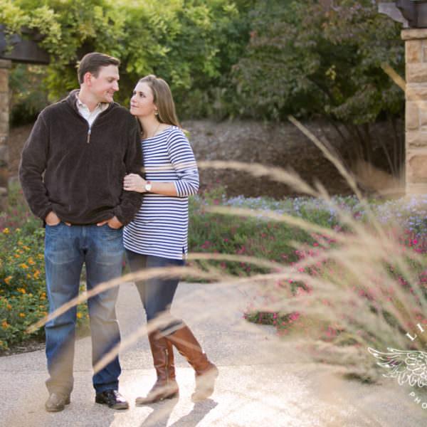 Hallie & Nathan - Engagement at Botanic Gardens and Sundance Square