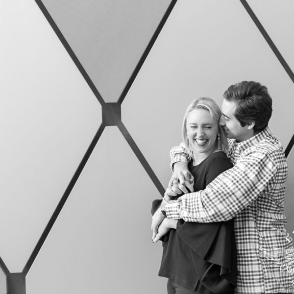 Lindsey & Matt - Engagement Session at The Dallas Arboretum and Winspear Opera House