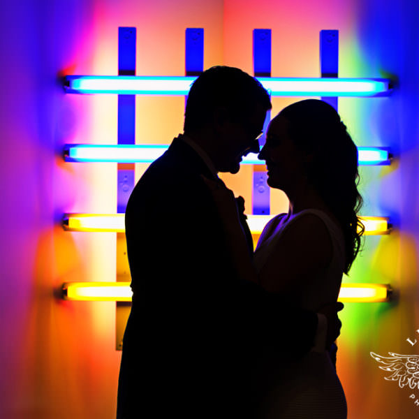 Lindsay & Keith - Wedding Reception at The Modern Art Museum
