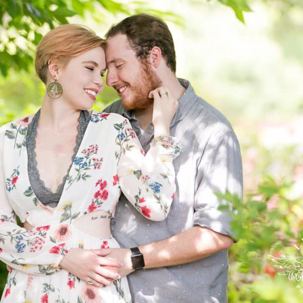 Addison & Kevin - Engagement Session at Dallas Arboretum & White Rock Lake