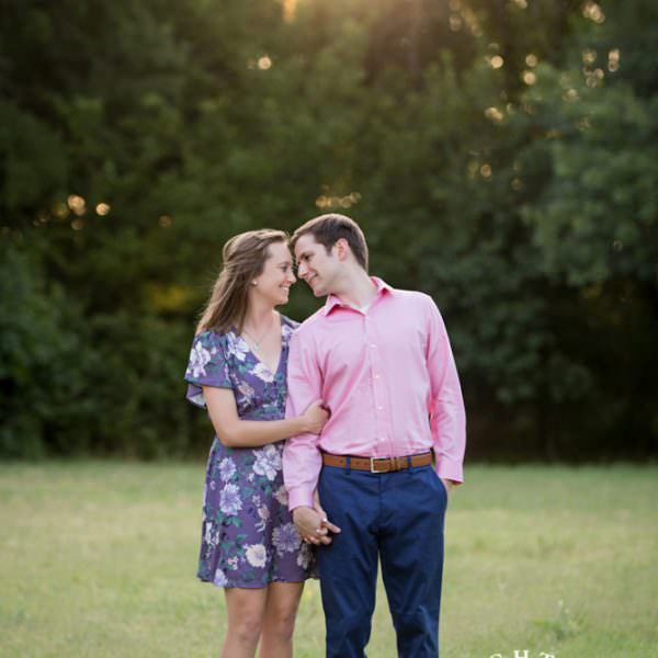 Kelly & Andrew - Engagement Session at Sundance Square & Airfield Falls
