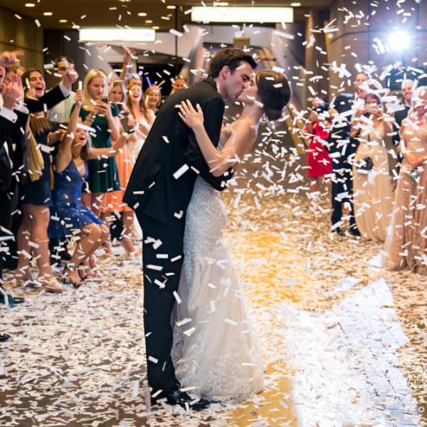 Rebecca & Matt - Wedding Reception at The Fort Worth Club